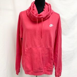 Nike Funnel/cowl Neck Hoodie size L